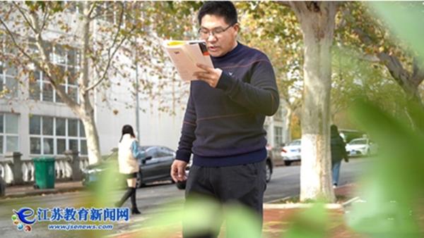 【江苏教育新闻网】相信知识的力量,他从专科生变成博士